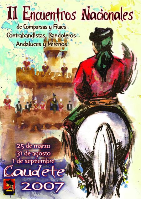 II Encuentros Nacionales de Comparsas y Filaes, Contrabandistas, Bandoleros, Andaluces y Mirenos