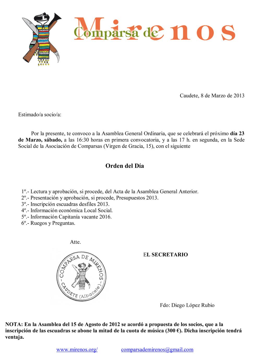 asamblea general 23-03-2013