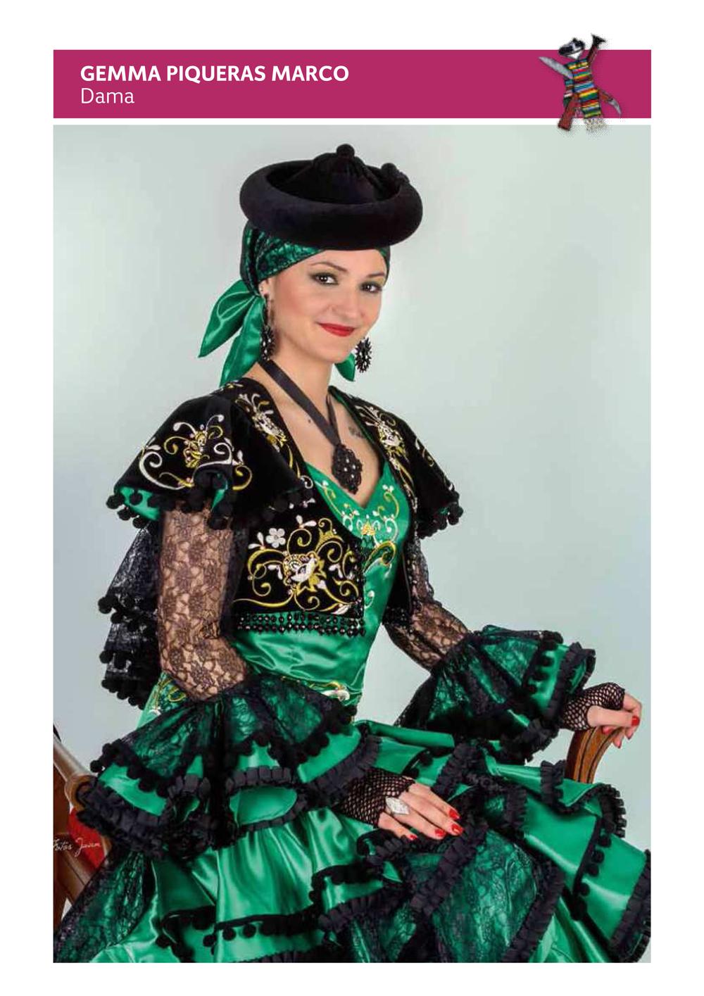 dama 2014 gema piqueras marco