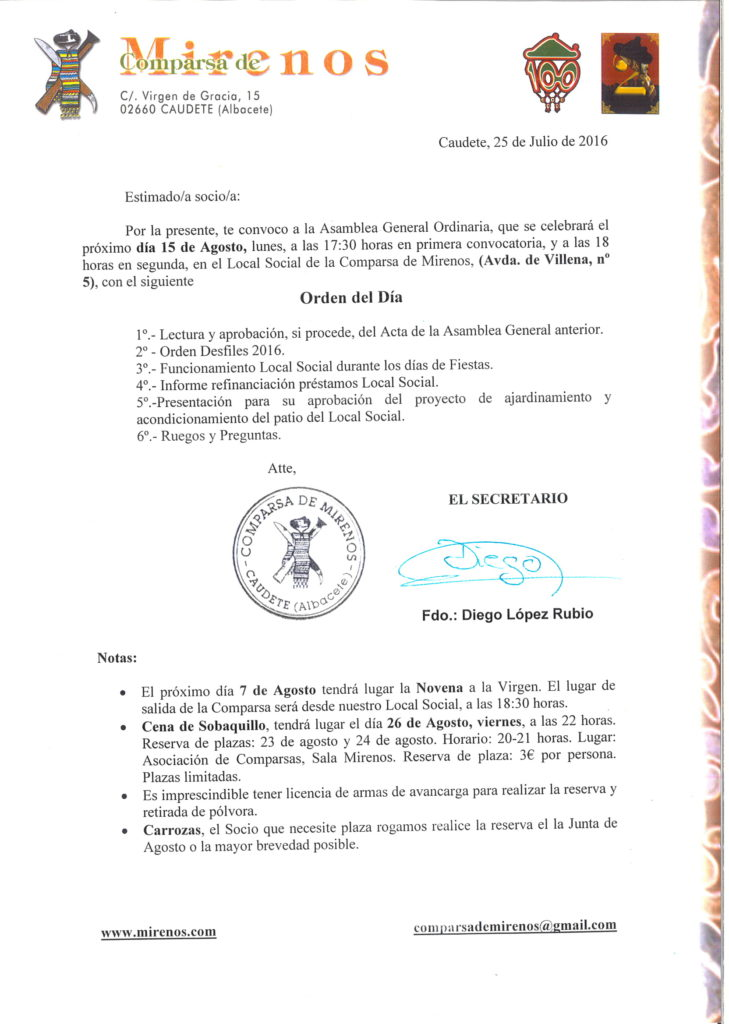 asamblea general ordinaria 15-08-2016